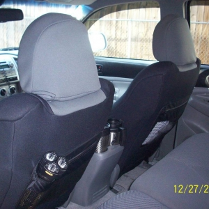 Wet Okole Seat covers back