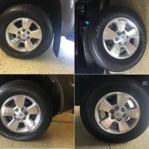 2015 TRD Rims N Tires