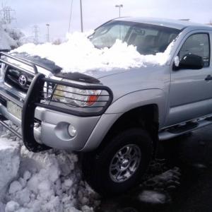 Parking Lot Snow