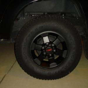 Black FJ TRD Wheel (powdercoated)