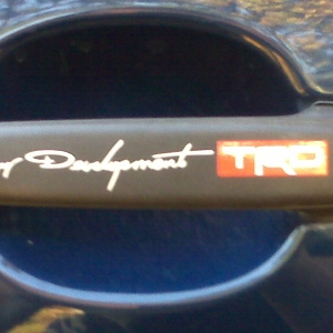trd door decals