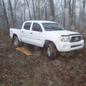 TRD Offroad 4x4 stuck