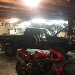 New garage!