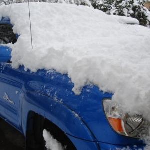Snow in Dallas