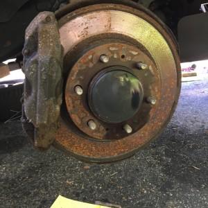 Rusted bastard rotor