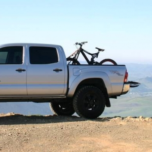 tacoma with bike