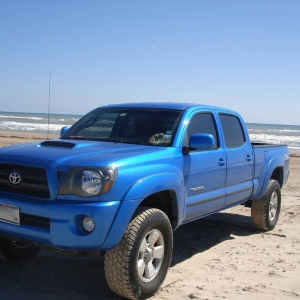 My truck at the Beach 2
