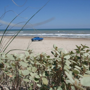 my truck at the beach 6