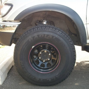 New tires 33x12.50 - 15