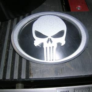 Punisher emblem finished