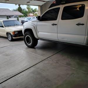 Time to swap trucks. Takin the Taco tomorrow.