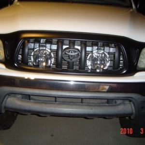 Lights Behind Grill