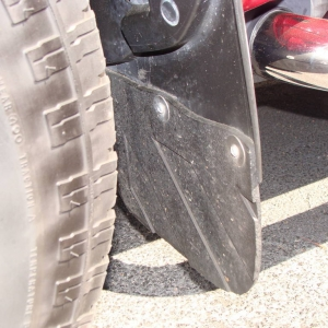 mud flap front