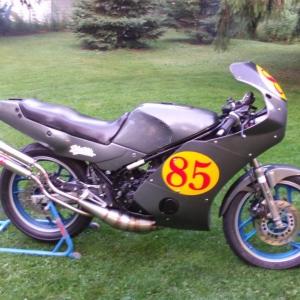 rz350 race bike