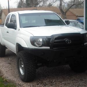 all pro front bumper