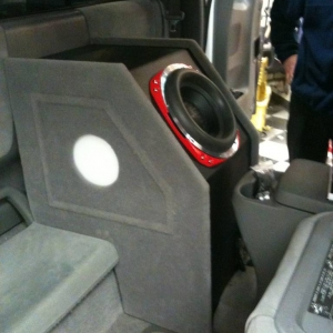Custom sub box and HID's