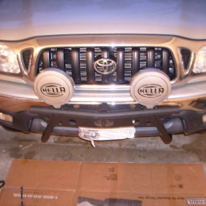 Cross Fab Light Bar
