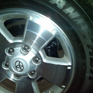 Painted Calipers Black