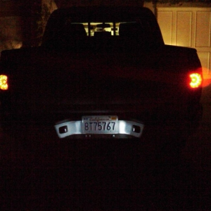 tinted tails and led license