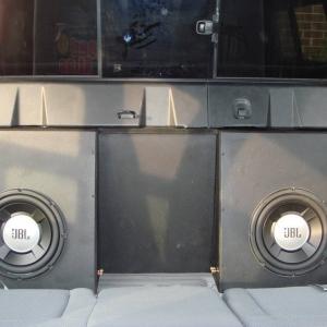 """Custom Sub Box Dual 10"""" JBL"""