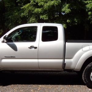 2010 Tacoma with 265-75-16 Dura Tracs