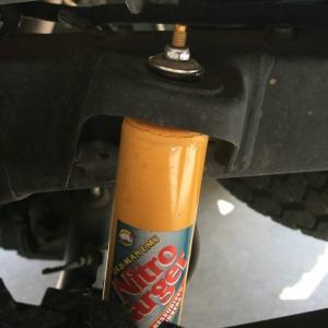 OME rear suspension