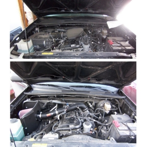 K&N Intake (before&after)