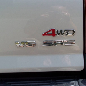 4WD badge
