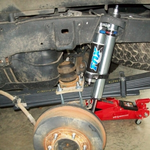 Rear Suspension Install