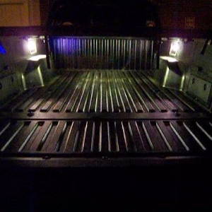 Bed Lights - in the dark