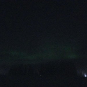 Northern Lights covered by some ice fog @ -40F