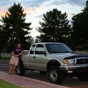 Me n my new truck!