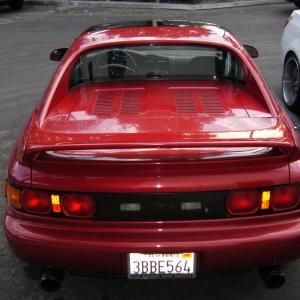 mr2 rear shot