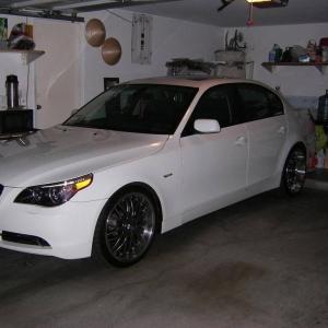 sittin in the garage