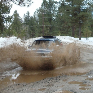 mudding in the 4runner