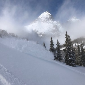 Pow in the Tetons