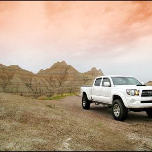 Truck Badlands w/Photoshop