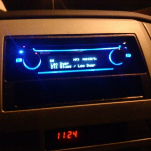 head unit @ night