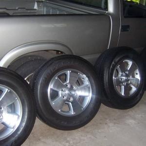 4 OEM Sport wheels
