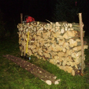 nice looking woodpile
