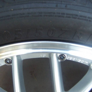 Corolla wheel size