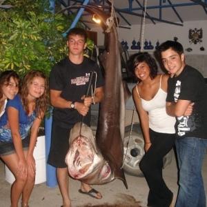 178kg. Sixgill Shark (Kefallonia, Greece)