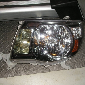 Driver side headlight