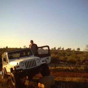 Poser shot of my old ride, 97 TJ