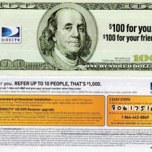 DirecTV refer a friend coupon