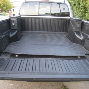 Bed Mat and Ammo Can Toolboxes