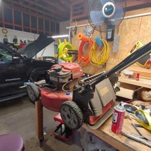 Combustion engine maintenance Saturday