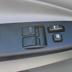 Plasti-Dipped Door Control Panels