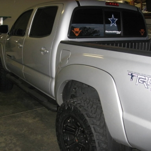 Dallas Cowboys TRD Decals