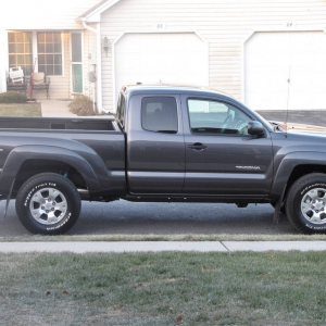 1st Tacoma After Bringing It Home